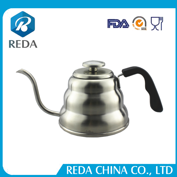 Hand Drip Kettle Pour Over Coffee and Tea Pot 1000ml with thermometer