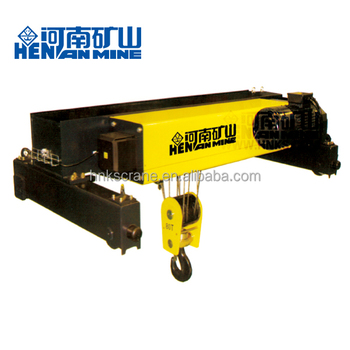Henan Mine New Type European Double Girder Wirerope Electric Hoist 80t with CE ISO