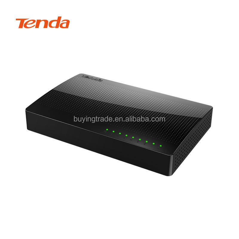 100% Original Tenda SG108 8 Port Gigabit Desktop Switch Fast Ethernet Switch for home