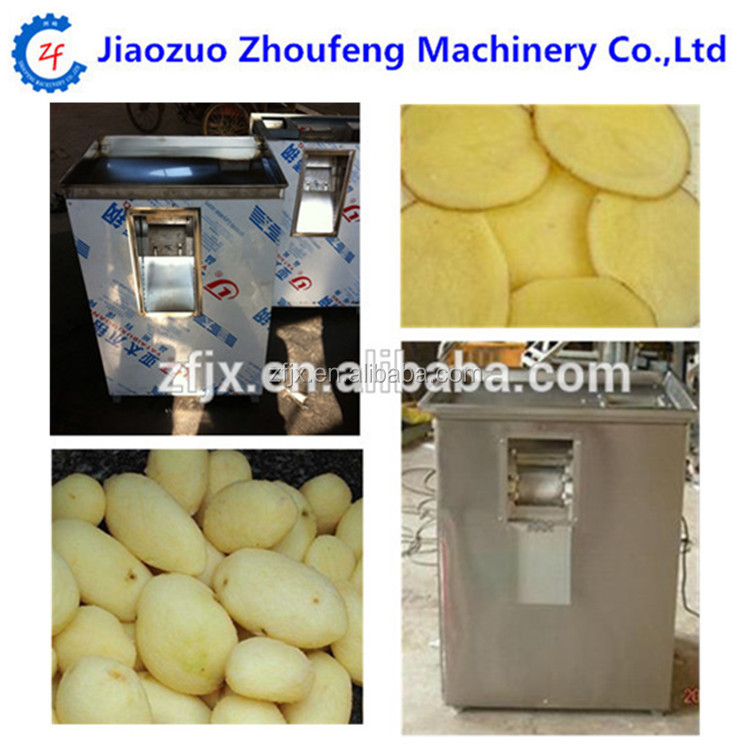Commercial automatic crinkle sweet potato chips french fries cutter cutting machine