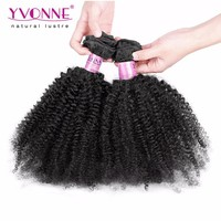 Afro Kinky Curly Grade 5A Color 1B Cheap Weave Hair Online