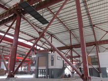 Guangzhou pre fabricated metal construction material building