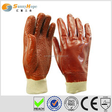 Sunnyhope chips palm pvc coated butcher glove