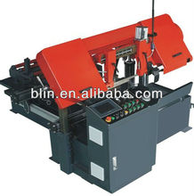 Ningbo Horizontal Double Column hydraulic automatic cnc band saw machine, Vertical band saw mills