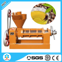 Many raw materials can be used for castor oil press machine