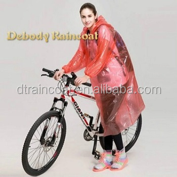 New Design Waterproof Bicycle Raincoat/Sports Raincoat rain poncho for outdoor activity
