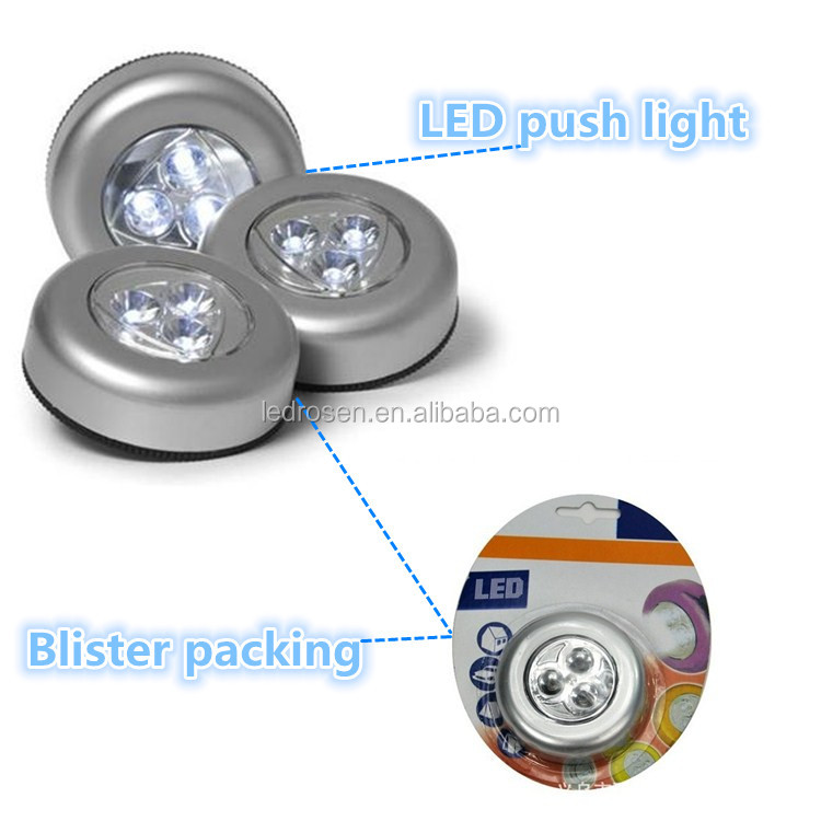 High quality factory direct sale decorative mini led push lamp