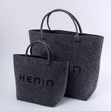 Women Fashion Customized Felt Tote Bag