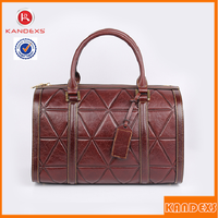 Hot Sell Genuine Leather Ladies Hand Bags