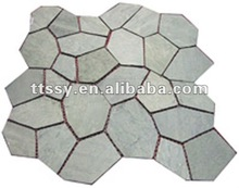 Crazy paving tile stone