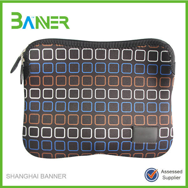 Customized High Quality Neoprene 11.6 inch Laptop Sleeve Without Zipper