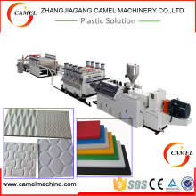 pvc free foam plate sheet extrusion line from zhangjiagang