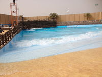 wave pool construction for sales