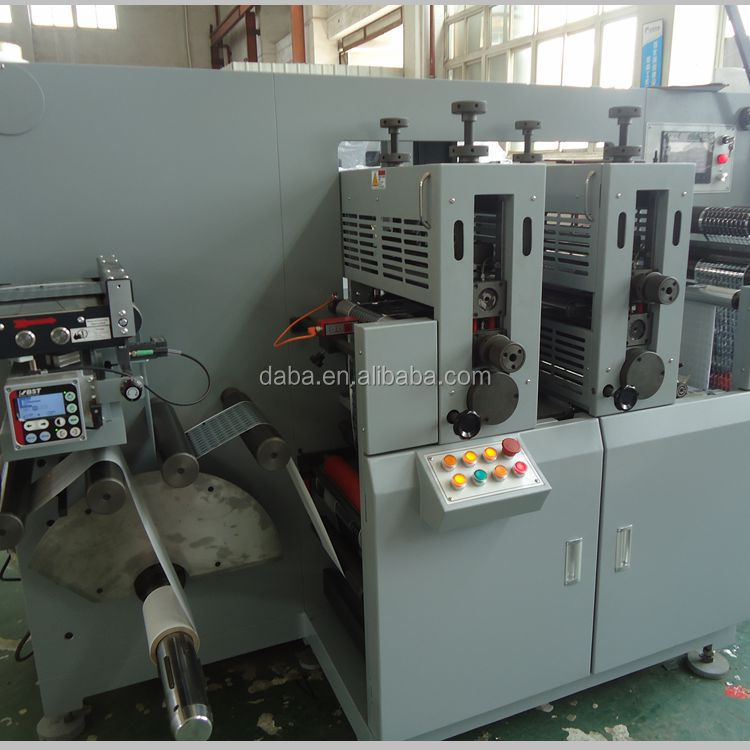 DBGS320 Type High Speed Roll To Roll Copper Foil Rotary Die Cutting Machine