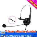 DC&QD head communication black classic call center headset earphone clip mp3 player earphone music speaker player