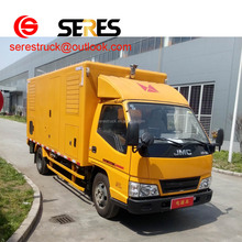 JMC 4*2 china van electric cargo truck low price for sale