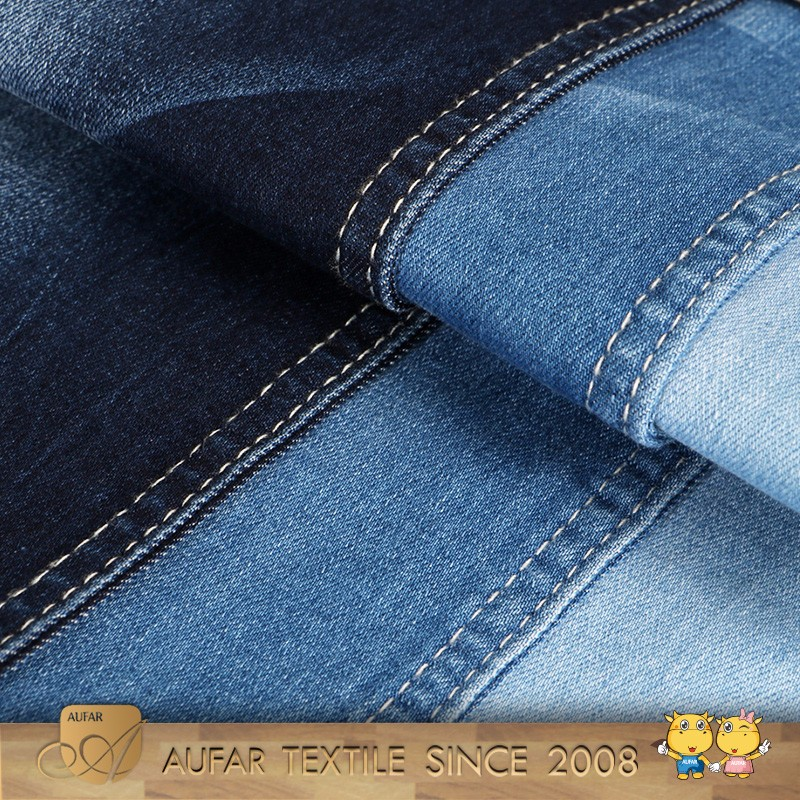 Woven Fabric Wholesale regular 100%cotton spandex denim fabric for levis 514