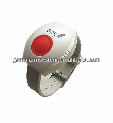Wristband Anti Lost Alarm Device SOS Wrist Panic Button for Senior