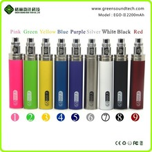 personal vape pen GS EGoII Regular 2200mah 18650 rebuildable battery mod