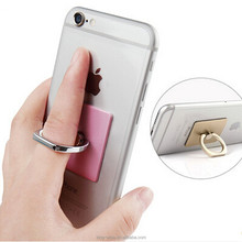 Wholesale Universal cellphone ring holder grip 360 degree rotate finger ring holder for iOS Android phone