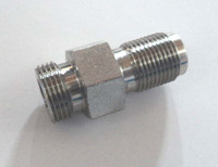 Zinc plating CNC fitting turning components