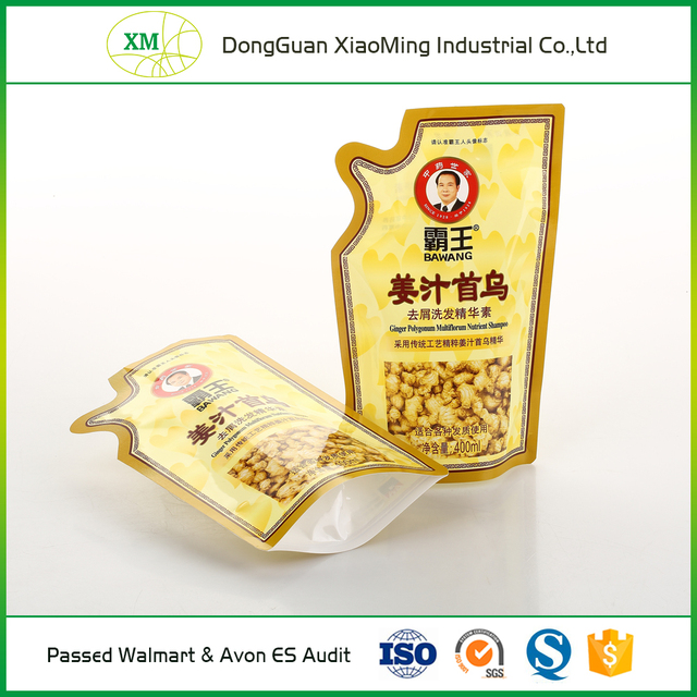 Biodegradable laminated stand up plastic food grade packaging bag