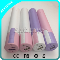 New Factory Price Lipstick Power Bank
