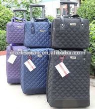 2 pieces trolley luggage luggage bag carry on bag