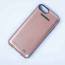 Fast charging wireless mobile phone battery charger case for iphone 6s