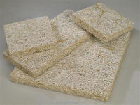 Sound absorber wood wool insulation board