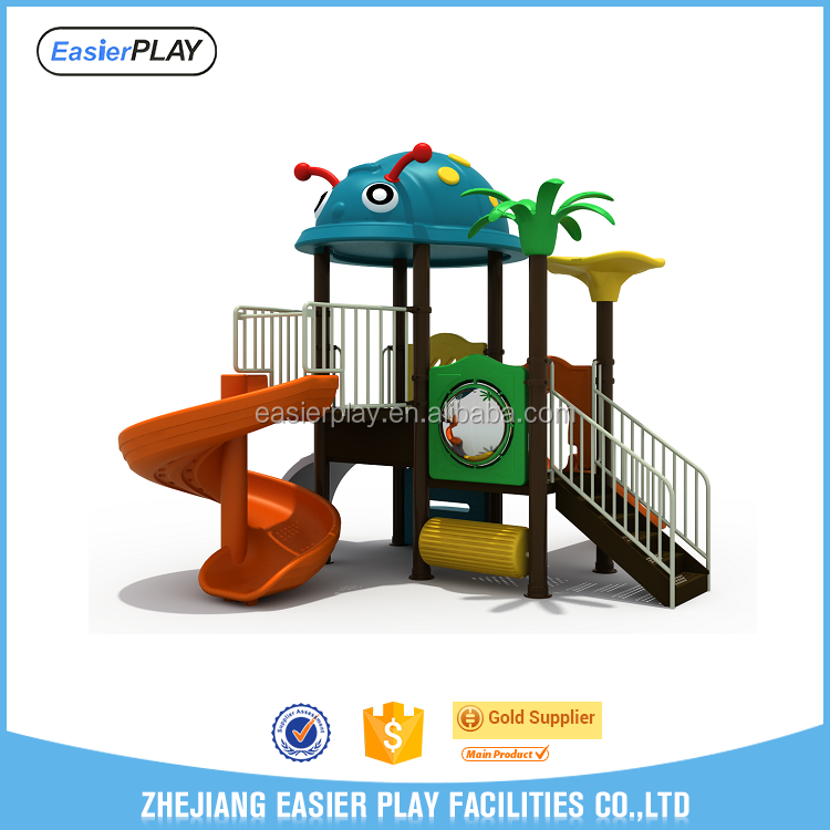 Outdoor kids commercial playground equipment
