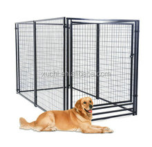Eco friendly dog run/galvanized dog kennel/pet fence china manufacturer