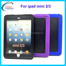 shockproof rugged tablet cover case for ipad mini 2/3