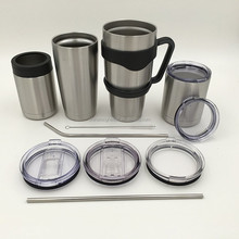 Double Wall 30oz Stainless Tumbler Vacuum Insulated Tumbler
