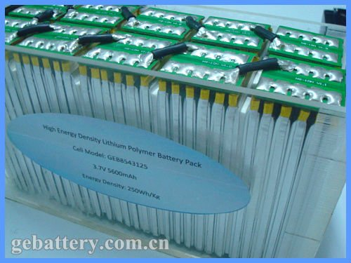 37V 33.6Ah Lithium Battery Pack Assemble with 3.7V 5600mah Cells