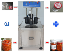 glass jar sealing capping machine/industrial vacuum sealer machines