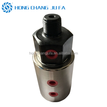 2 passages high pressure rotary air union multi channel rotary joint for oil fluid