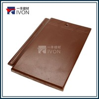 IVON Hottest Sale Grey Flat Roofing Tile rooftiles roofing roof clay tiles