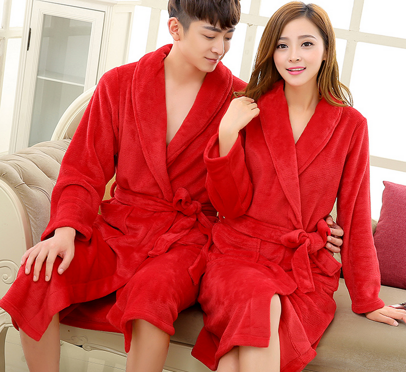 Warming Bathrobes With Waist Band Soft Pyjamas Cheap Silk Robes For Unisex