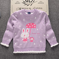 Fall winter new desgin Rabbit Rainy lovely double layer pullover korean kids xxx clothing wear famous brand