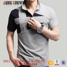 Cotton/Polyester Printing Men Polo T Shirt Wholesale Low Price Moq Top Quality