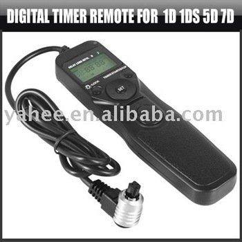 Digital Timer Remote for Canon 5D Mark 2 II 1DS 1D 7D,YAD203A