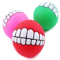 Ball Toy For Dogs Puppies - Top Cool Rubber Dog Chew Toy - Best for Aggressive Chewers- Small Medium Large Dogs Breeds