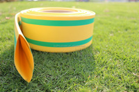 Yellow-green shrinkable busbar sleeve/green-yellow flame-retardant polyolefin cable sleeving