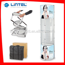 shining Trade Show Pop up tower display stand for exhibitions