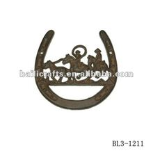 Good quality sell well horse shoe wall stickers home decor