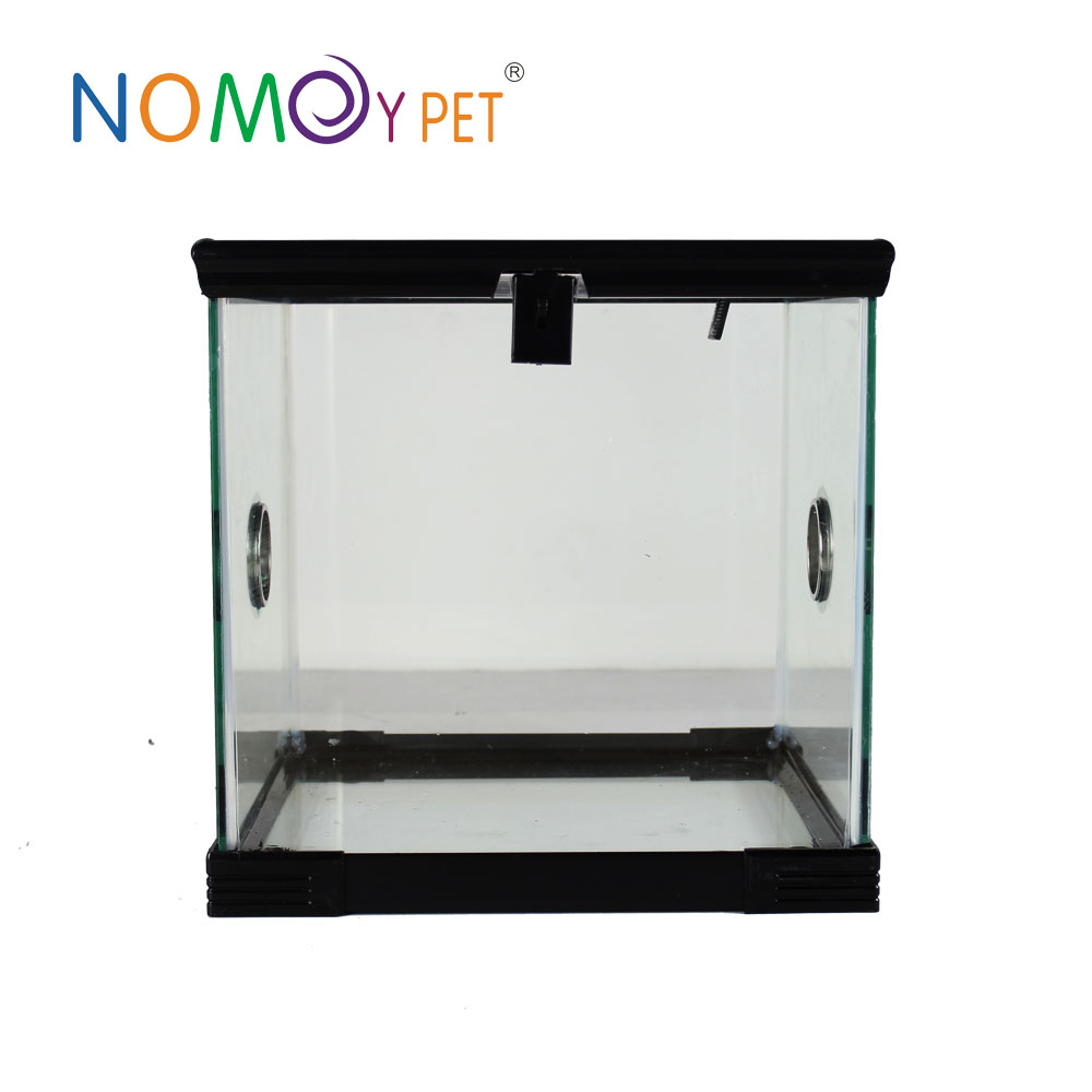 Nomo new design glass Pet home, Reptile Cages,easy to Clear hamsters cages