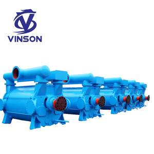 2BE industrial gas suction drainage water ring vacuum pump