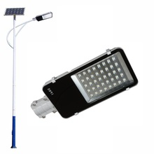 Solar streetlights led street lamp 40 Watt with solar panel and light pole