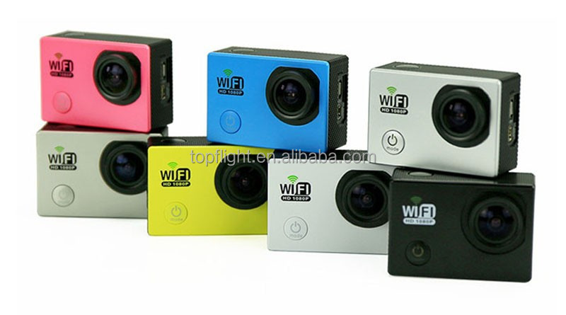 "2.0"" LCD Waterproof WIFI Camera Full HD 1080P SJ6000 Cam DV Sport DVR Action Camera"